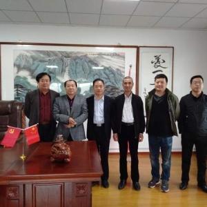 安徽省灵璧石协会会长黄国强赴徐州调研