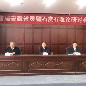 首届安徽省灵璧石赏石理论研讨会在宿州举行